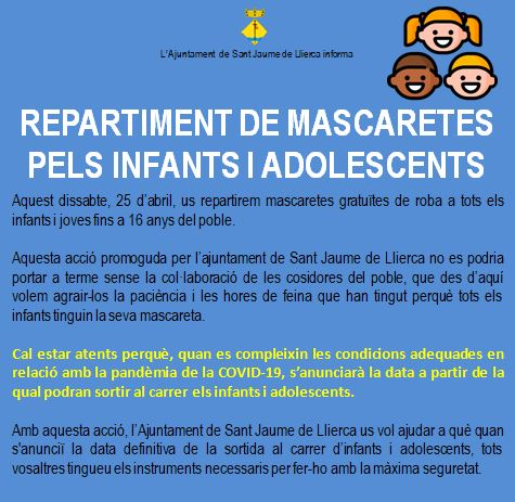 REPARTIMENT MASCARETES